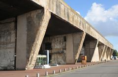 City of Saint Nazaire in Loire Atlantique Stock Photos