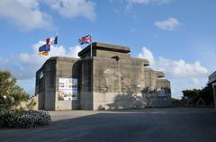 Bretagne, Le Grand Blockhaus in Batz sur Mer - stock photo