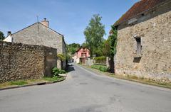 France, the picturesque village of Fremainville in Val d Oise Stock Photos