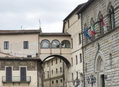 Citta di Castello (Umbria, Italy) - stock photo