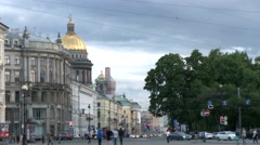 Palace Square, Saint-Petersburg, Russia HD Stock Footage