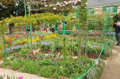 Monet house in Giverny in Normandie - stock photo