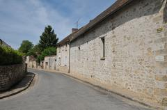 Stock Photo of France, the village of Themericourt in Val d Oise