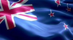 Flag Ross Dependency - stock footage