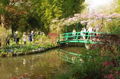 Eure, the Monet house in Giverny in Normandie - stock photo