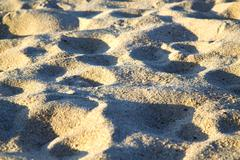texture   footstep  in kho samui    stone abstract - stock photo