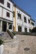 Stock Photo of Portugal, the historical  National Palace in Sintra
