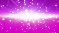 bokeh glow background forward magenta Discount period - stock footage