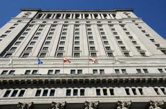 Canada, sun life building in Montreal Kuvituskuvat
