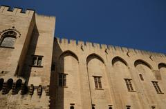 Stock Photo of France, Le Palais Des Papes in Avignon