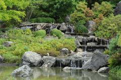 Stock Photo of Canada, Ja panese garden in the Botanical Garden of Montreal