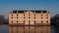 Mansion House On The Waterfront - stock footage