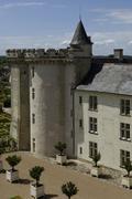 France, the renaissance castle of Villandry - stock photo