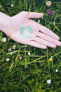 Ecology and Nature Care - Recycling Stock Photos