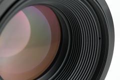 Lens Optics Stock Photos