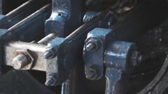 Steam Piston Motion - stock footage