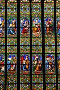 France, the Guerande church in Loire Atlantique Stock Photos