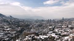 4k Sarajevo, Bosnia and Herzegovina Stock Footage