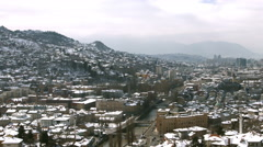 4k Sarajevo, Bosnia and Herzegovina - pan Stock Footage