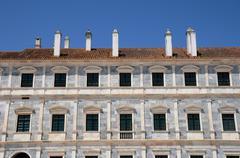 The dukes palace of Vila Vicosa in Portugal Stock Photos