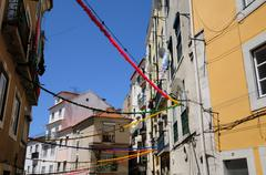 Stock Photo of Portugal, the district of Alfama in Lisbon