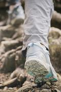 Hiking or Mountaineering Stock Photos