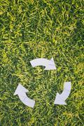 Recycling Symbol - stock photo