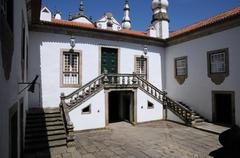 Stock Photo of Portugal, the baroque Mateus palace in Vila Real