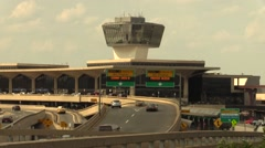 Airport, Newark - stock footage