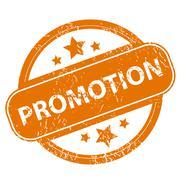 Stock Illustration of Promotion grunge icon