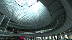 Fulton Center in Manhattan. Fulton Transit Center. NYC MTA. Stock Footage