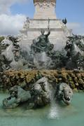 France, the Monument aux Girondins in Bordeaux Stock Photos