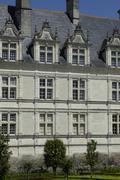 Stock Photo of France, the renaissance castle of Villandry
