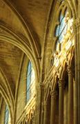 Stock Photo of France, church Saint Martin of Triel