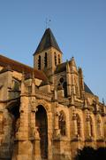 Stock Photo of France, the church Saint Martin of Triel