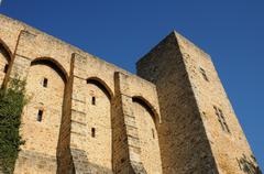 La Madeleine castle in Chevreuse Stock Photos
