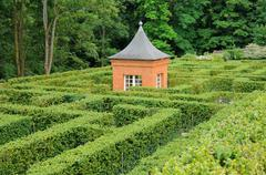 Stock Photo of France, French formal garden of Breteuil