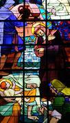 Saint Jean du Baly church in Lannion - stock photo