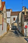 France, the village of Vernouillet in les Yvelines - stock photo