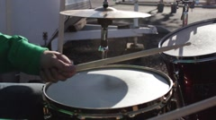 Snare Drum - stock footage