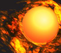 Fireball. Piirros