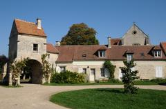 France, the village of Saint Jean aux Bois in Picardie Stock Photos