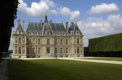 France, the castle of Sceaux in Les Hauts de Seine Stock Photos
