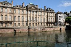 Stock Photo of France, Le Palais Rohan in Strasbourg