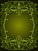 Decorative background for food and drink industry. - stock illustration