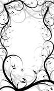 Elegant decorative frame Stock Illustration
