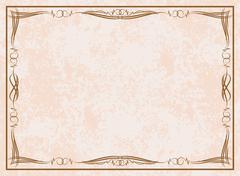Elegant vintage background. - stock illustration