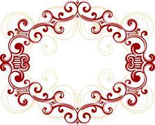 Decorative frame. - stock illustration
