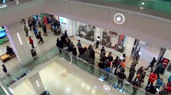 Stock Video Footage of People line up for waiting celebrity photograph