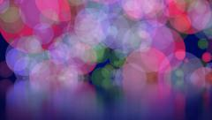 Multicolored Glowing Abstract Motion Background Stock Footage